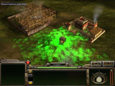 Command & Conquer: Generals Windows The bio-tank can contaminate the ground, damaging enemies (GLA).