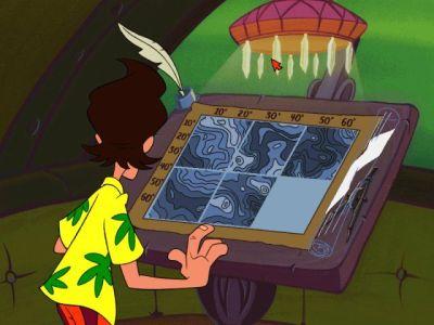 Ace Ventura Windows Solve interesting puzzles...