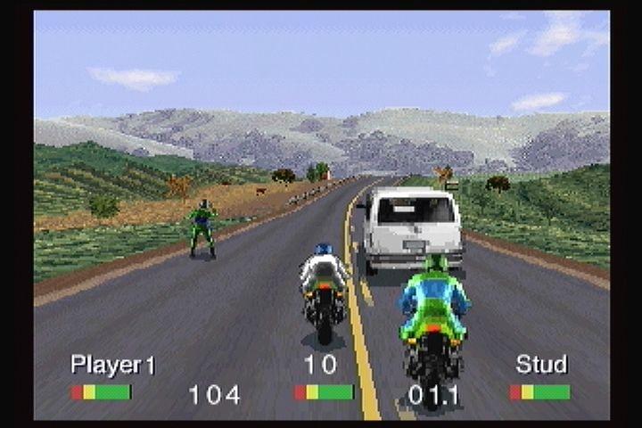 Image result for Road Rash 3DO screenshot