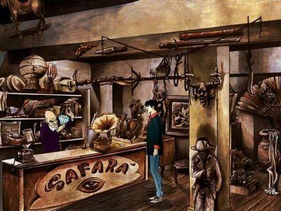 "Dylan Dog: Horror Luna Park Windows Inside ""Safarà"" you will find Hamlin, a weird shopkeeper used to travel between dimensions."