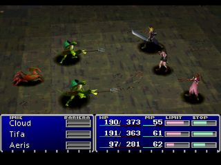Final Fantasy VII PlayStation Seaman