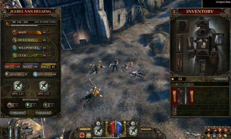 Image result for The Incredible Adventures of Van Helsing screenshots