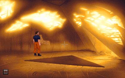 The Dig DOS Gorgeous effects in a mysterious ancient tomb
