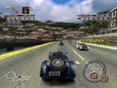 Mille Miglia PlayStation Stage 3 - Ravenna - Mercedes SSKL