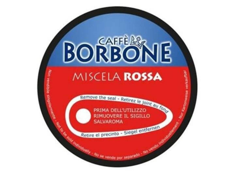 180 capsule caffè Borbone Compatibili Nescafé Dolce Gusto Miscela ROSSA