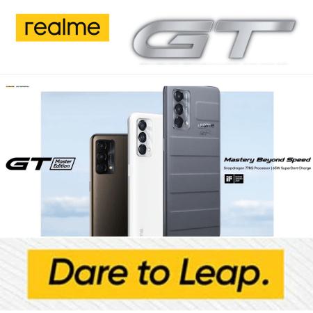 Realme GT Live now