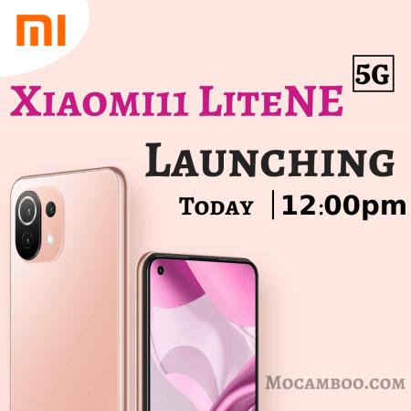Xiaomi Product Launch | Xiaomi 11 Lite NE 5G | Xiaomi 5G Mobile Launch |