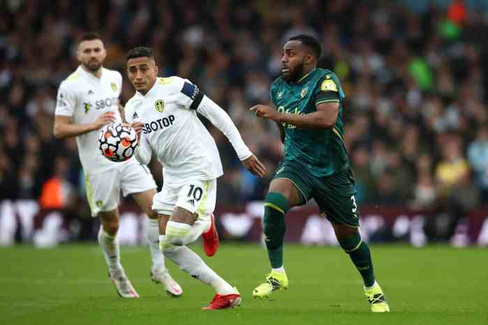 Leeds' Raphinha praised by Thiago Silva after influential performance