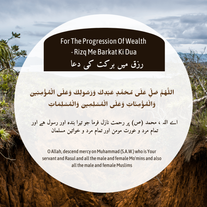 For The Progression Of Wealth – Rizq Me Barkat Ki Dua   Islamic status   Quran ayat   Dua  ...