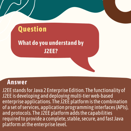 What do you understand by J2EE?