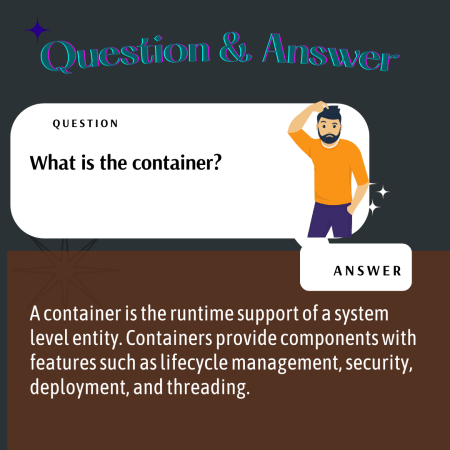 What is the container?