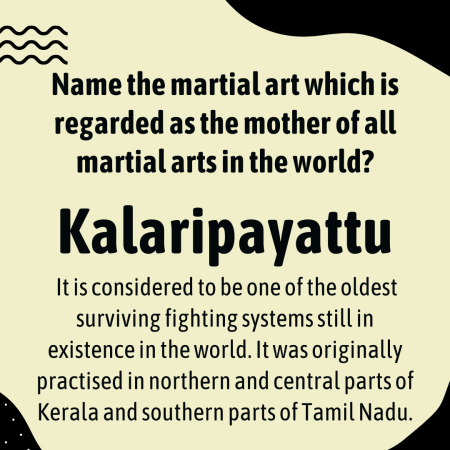 Name the martial art which is regarded as the mother of all martial arts in the world?