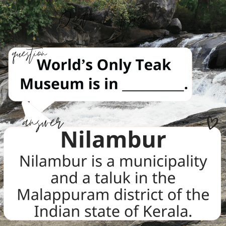 World's Only Teak Museum is in _________.