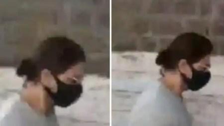 ड्रग्स केस में बंद बेटे आर्यन खान से मिलने आर्थर रोड जेल पहुंचे शाहरुख खान