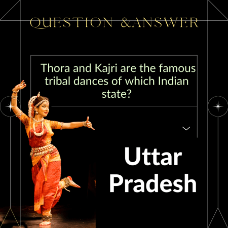 Thora and Kajri are the famous tribal dances of which Indian state?