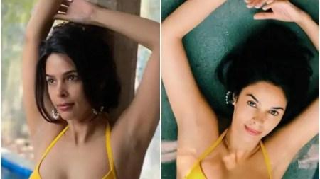 मल्लिका शेरावत ने बिकिनी में फ्लॉन्ट किया कर्वी फिगर, फैन ने कहा- 'पहले से ज्यादा खूबसूरत हो गईं'
