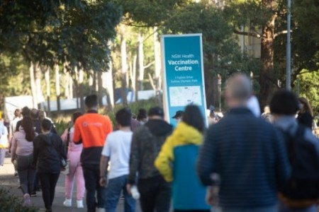 Australia's most populous state has an 80 percent vaccination rate | ऑस्ट्रेलिया के सबसे अ ...