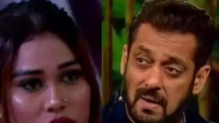 Bigg Boss 15 Salman Khan lashesout on Afsana Khan for her statement Ieshaan Sehgaal and Miesha I ...