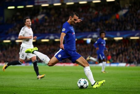Chelsea fans react as former duo combine to score opener against Manchester United in the Champi ...