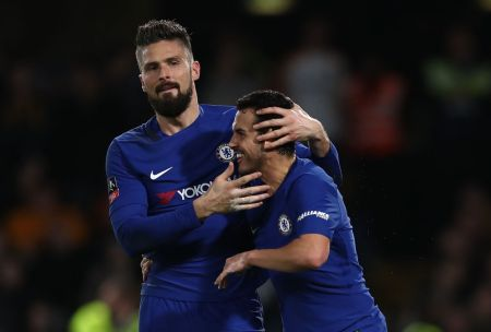 Giroud names best players during his spell in London at Chelsea & Arsenal