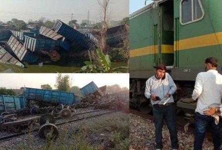 Goods Train Derailed On Delhi-howrah Route Near Rura And Kanpur-shatabdi Canceled – हादसा: ...