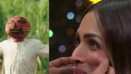 India Best Dancer 2 Vineet Kumar aka khomcha pulled Malaika Arora cheeks Geeta and Terence says  ...