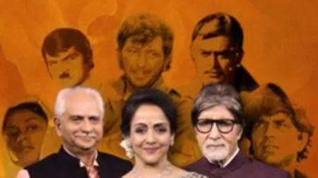 Kbc 13 hema malini and amitabh bachchan will shares sholay film making intresting story pr