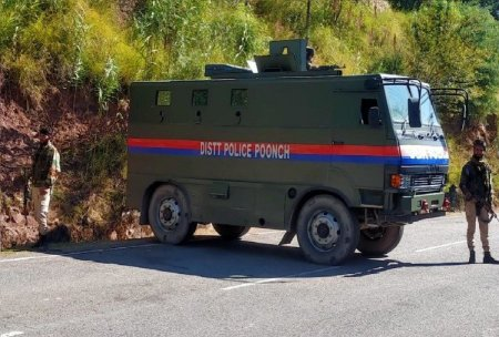 Poonch Encounter Firing Started Between Security Forces And Terrorists In Bhatadhorian – ज ...