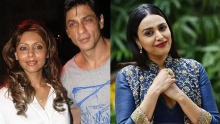 Swara Bhasker shares post praising Shahrukh khan during Aryan Khan case controversy – Ente ...