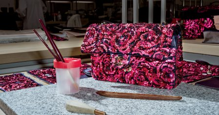 The Hand-Beaded Chanel Bag That Takes 120 Hours to Embroider