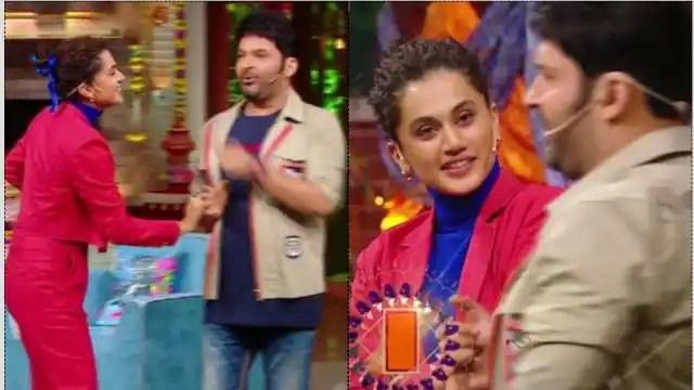 The Kapil Sharma Show: Kapil Sharma made fun of Taapsee Pannu about Akshay Kumar name and her up ...