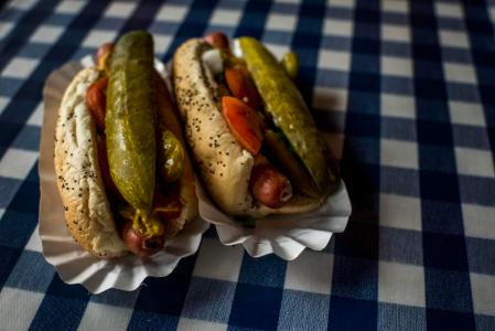 This hot dog restaurant just saw its stock price surge more than 50% on its IPO day