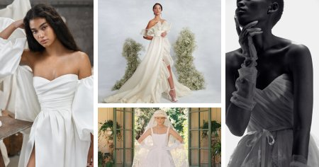 Trends From New York Bridal Fashion Week