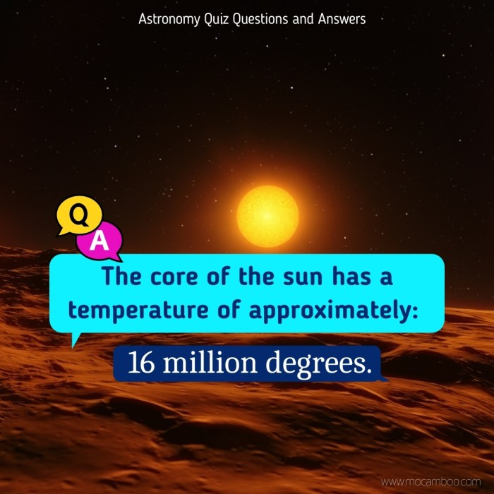 The core of the sun has a temperature of approximately: