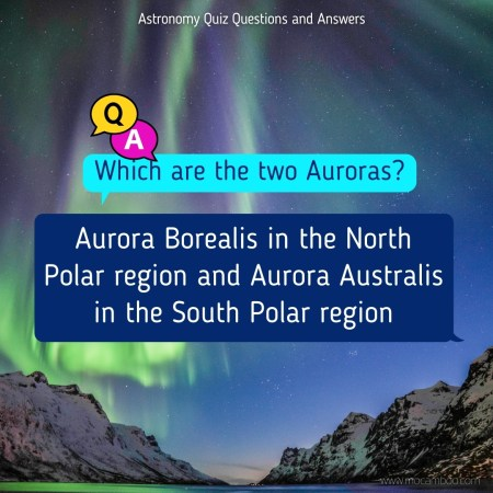 Which are the two Auroras?