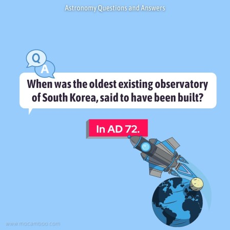 When was the oldest existing observatory of South Korea, said to have been built?