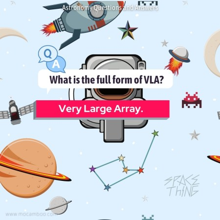What is the full form of VLA?