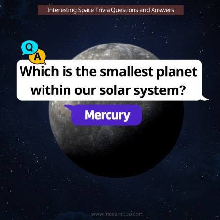 Which is the smallest planet within our solar system?