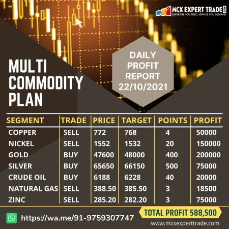 Click Here:- https://t.me/Freemcxtrades Join For More Beneficial Tips https://wa.me/919759307747 ...
