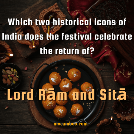Which two historical icons of India does the festival celebrate the return of?
