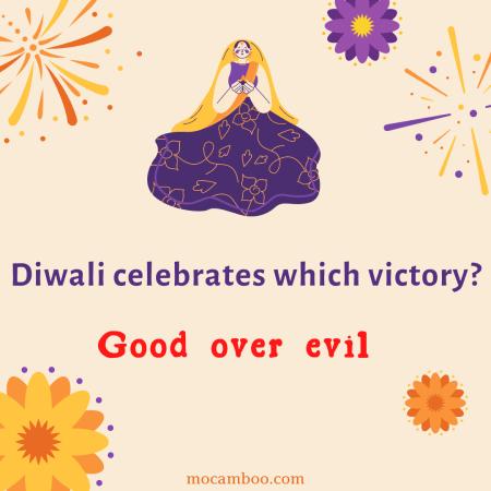 Diwali celebrates which victory?