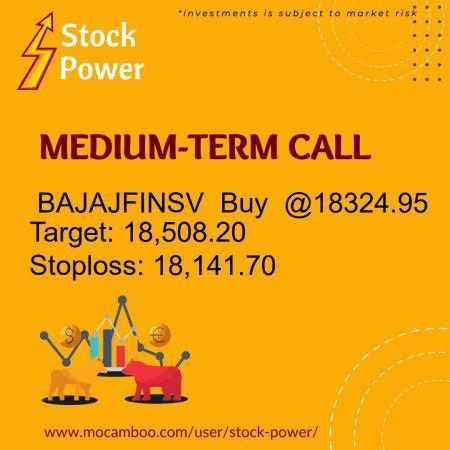 Live  BAJAJFINSV  Buy  @18324.95    Trading Call