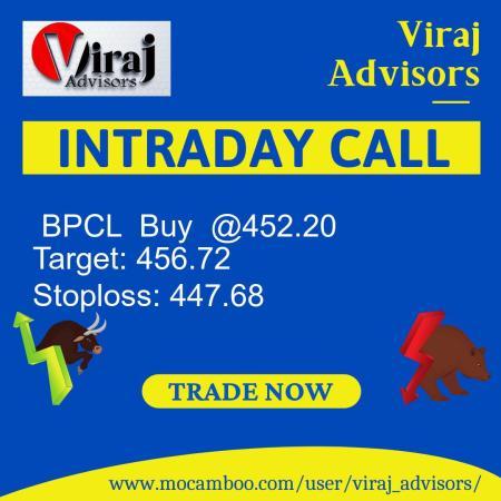 Live  BPCL  Buy  @452.20    Trading Call