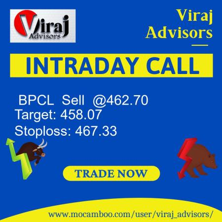 Live  BPCL  Sell  @462.70    Trading Call
