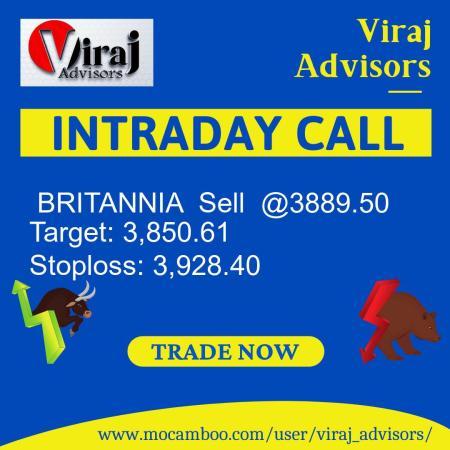 Live  BRITANNIA  Sell  @3889.50    Trading Call