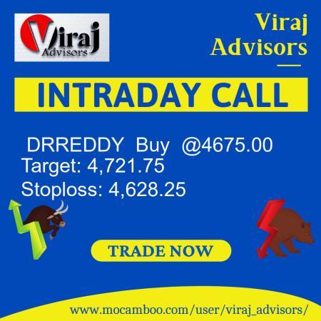 Live  DRREDDY  Buy  @4675.00    Trading Call