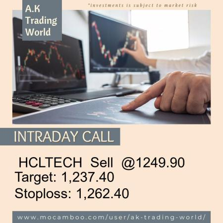 Live  HCLTECH  Sell  @1249.90    Trading Call