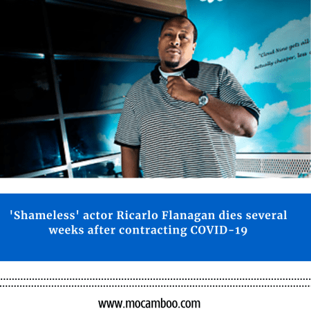 'Shameless' actor Ricarlo Flanagan dies several weeks after contracting COVID-19