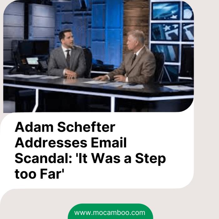 Adam Schefter Addresses Email Scandal: 'It Was a Step too Far'