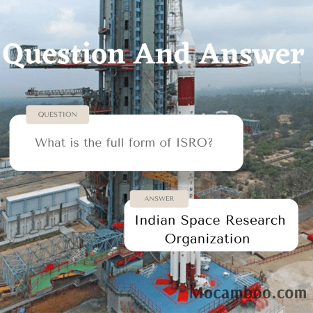 What is the full form of ISRO?